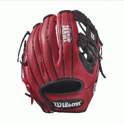 edroia Fit - 11.5 Wilson Bandit 1786 Pedroia Fit Infield Baseball GloveBandit 1786 Pedroia Fit
