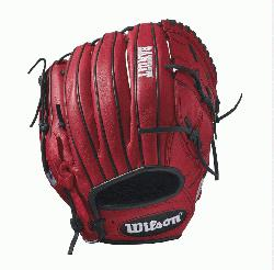 12 - 12 Wilson Bandit B212 Pitcher Baseball GloveBandit B212 12 Pitchers Baseball Glove - Right H