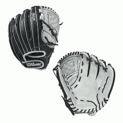 .75 Wilson Onyx FP 1275 Outfield Fastpitch Glove Onyx FP 12.75 Outfield Fastpitch Glove- R