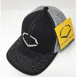 yester/42% Cotton/2% SPANDEX Imported Flex-fit trucker hat Embroidered log