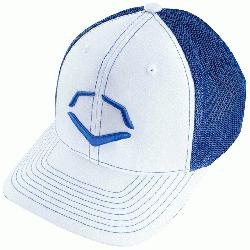 lyester/42% Cotton/2% SPANDEX Imported Flex-fit trucker