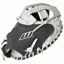 vanced Catchers Mitt Fastpitch Softball Glove 34 inch LACMGW (Right Hand Throw) : W